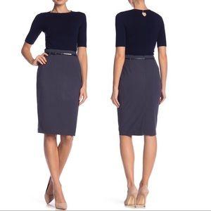 NWT $98 Amanda & Chelsea Pencil Skirt Size 10